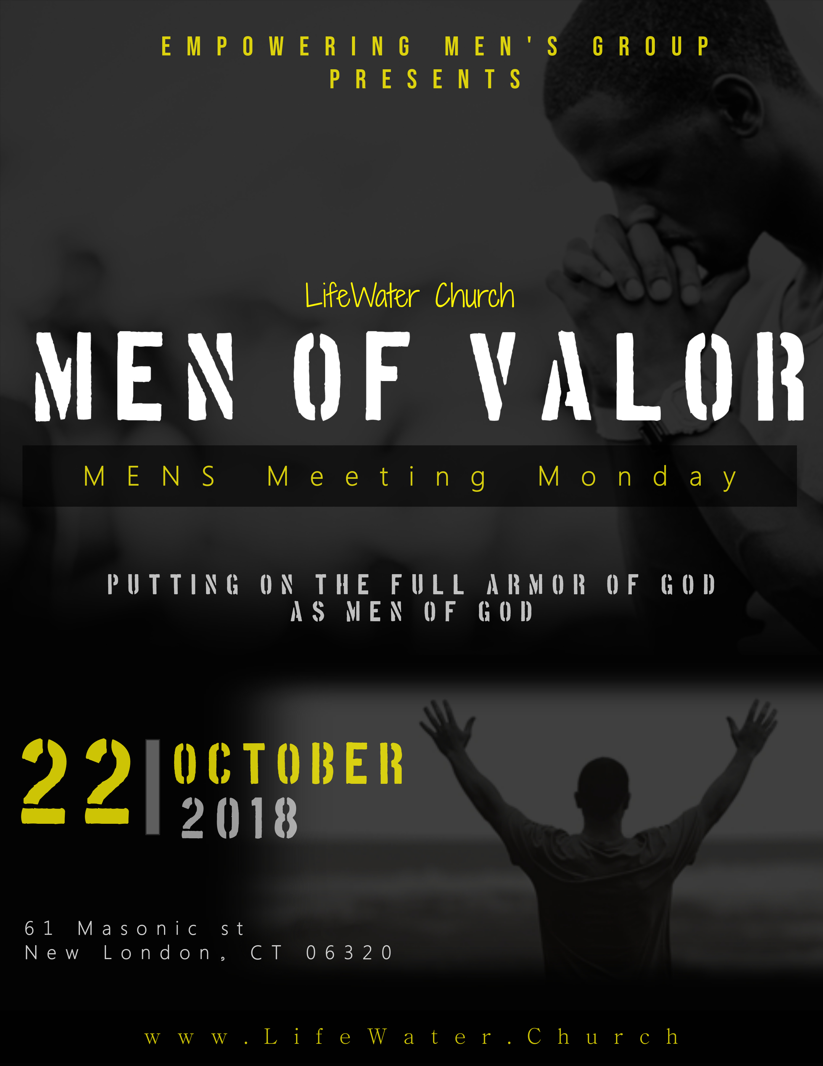 Empowering mens ministry