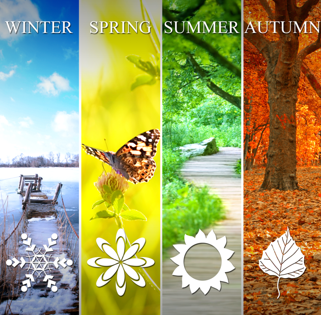 Seasons a season and time for everything